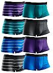Buffalo Pack of 8 Standard Fit Boxers