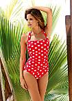 LASCANA Polka Dot Swimsuit