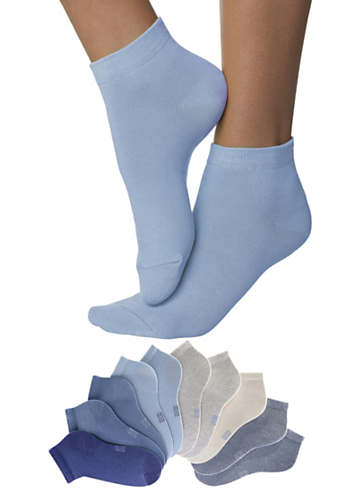 H.I.S Pack of 10 Trainer Socks