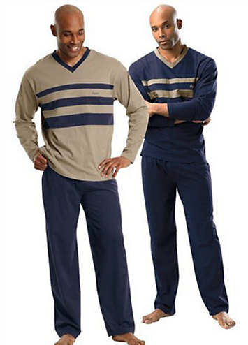 Le Jogger Pack Of 2 Long Pyjamas