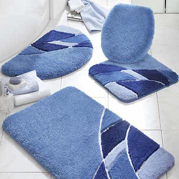 Mosaic Pattern Bathroom Mats