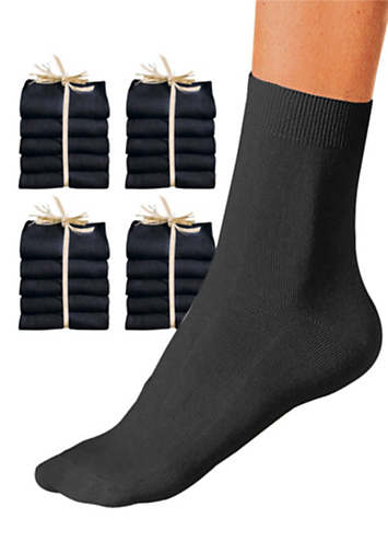 Pack of 20 Ladies Socks