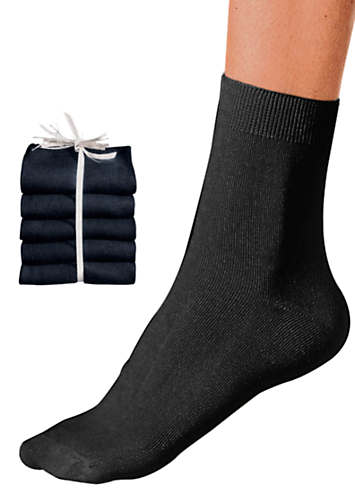 Pack of 5 Ladies Socks