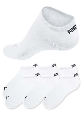 Puma Pack of 6 Trainer Socks