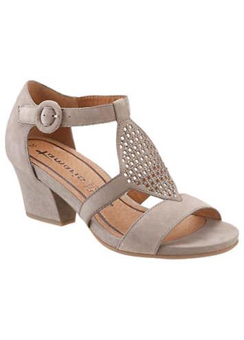 tamaris high heel sandals freemans. Black Bedroom Furniture Sets. Home Design Ideas