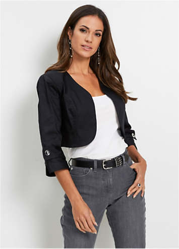 Three-Quarter Sleeve Bolero