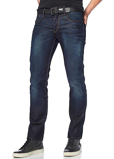 g star straight leg regular jeans freemans. Black Bedroom Furniture Sets. Home Design Ideas