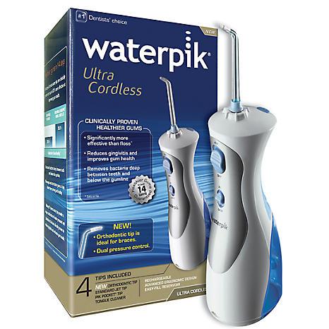waterpik ultra cordless dental cleaning water jet wp450 freemans. Black Bedroom Furniture Sets. Home Design Ideas