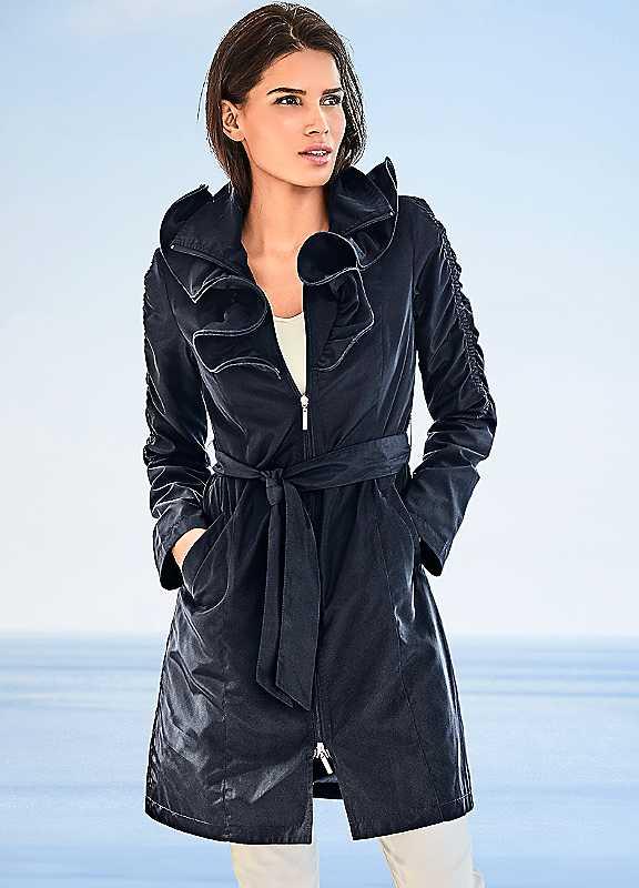 Ashley Brooke Trench Coat