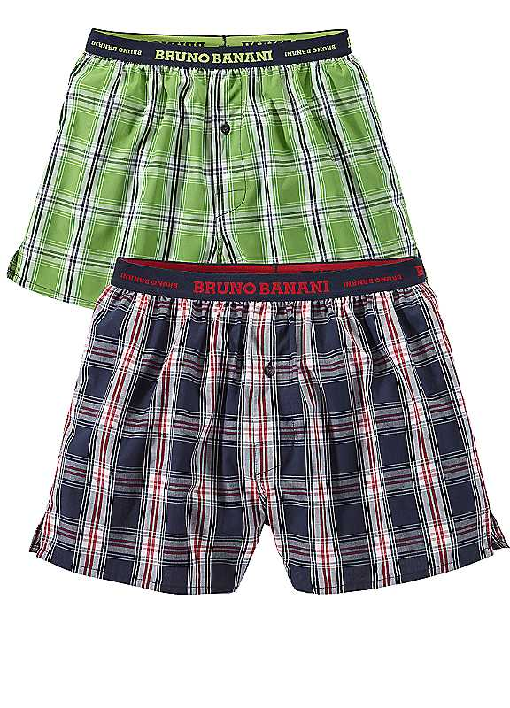 Bruno Banani Pack of Two Woven Boxers