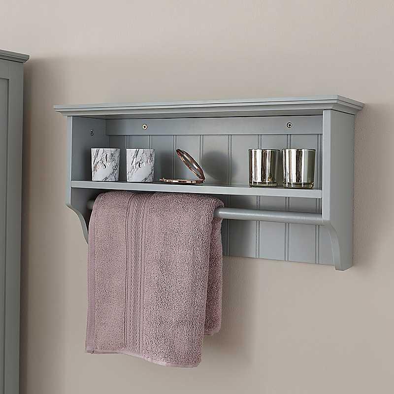 Cotswold Towel Rail & Shelf