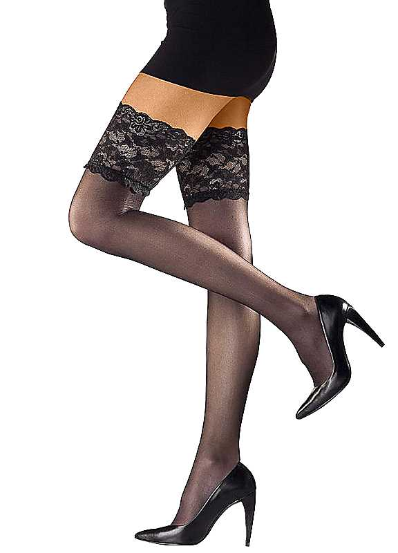 Levée Pack of 2 Hold Up Stockings