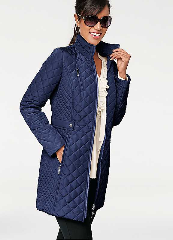 Patrizia Dini Longline Quilted Jacket