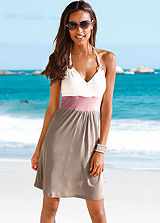 Beachtime Halter Neck Beach Dress