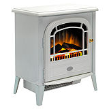 Dimplex Optiflame Courcheval White Stove