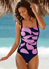 LASCANA Retro Print Swimsuit
