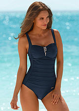 LASCANA Ruched Swimsuit