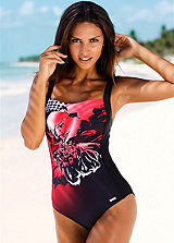 LASCANA Tropical Print Swimsuit