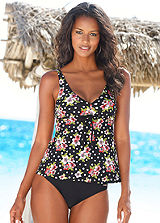 LASCANA Underwired Floral Tankini