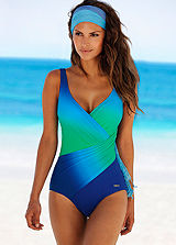 LASCANA Wrap Effect Swimsuit