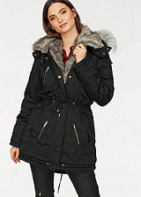 Laura Scott Water Resistant Parka Coat