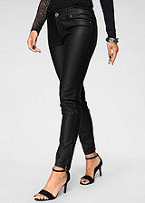 Melrose Leather Effect Trousers