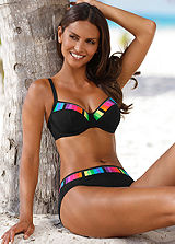 Sunflair Underwired Rainbow Trim Bikini