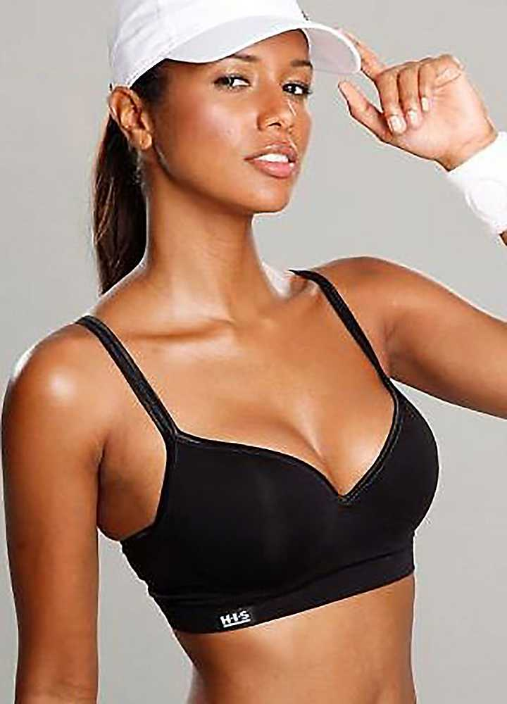 You can select a bra that matches your workout regimen and support needs, from low-impact bras, medium-impact bras or high-impact sports bras for rigorous exercise. Step up your style factor with chic back-detailing and fresh hues and prints.