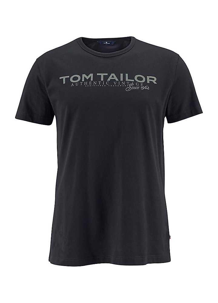 tom tailor logo t shirt freemans. Black Bedroom Furniture Sets. Home Design Ideas